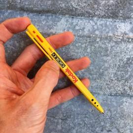 stylo kodak publicitaire vintage 1990 jaune rouge photo pellicule film