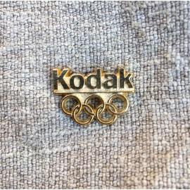 pin's pins kodak publicitaire vintage 1990 jeux olympiques jo 1992 photo pellicule film