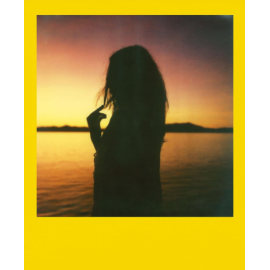 pellicule polaroid originals couleur bords coloré summer haze edition été rare cadre