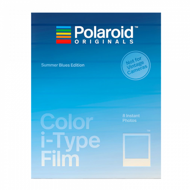 polaroid originals instant color film for i type cameras not vintage summer blues edition frame