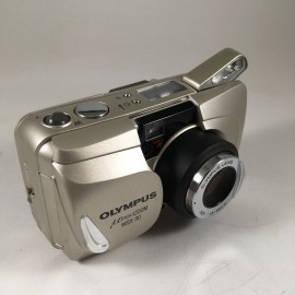 olympus mju zoom wide 80 28mm 35mm  point and shoot  1998 135 argentique