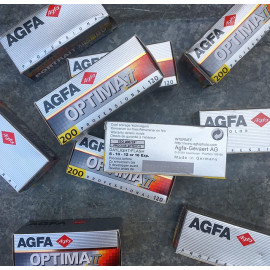 pellicule ancienne argentique agfa optima II 200 120 2001 périmée couleur négatif iso