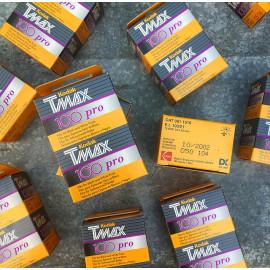 pellicule périmée argentique bipack 35mm noir et blanc tmax tmx 100