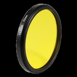 Filter Yellow black and white 49mm 52mm 55mm lens lenses photo