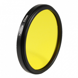 Filter Yellow black and white 49mm 52mm 55mm lens lenses photo