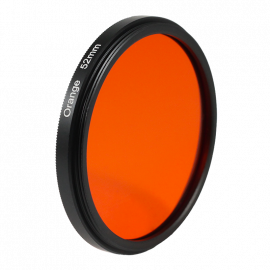 Orange filter black and white 49mm 52mm 55mm lens lenses photo