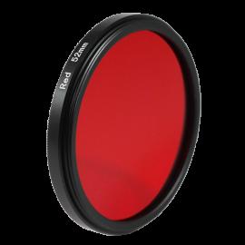 Filtre rouge noir et blanc 43mm 46mm 49mm 52mm 55mm 58mm objectif optique photo