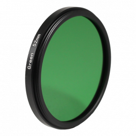Green filter black and white 49mm 52mm 55mm lens lenses photo