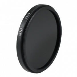 Filtre infrarouge noir et blanc 52mm 43mm 46mm 49mm 55mm 58mm  objectif optique photo