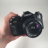 canon a1 ancien appareil reflex 35mm 135 noir 28mm 2 2.0