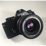 nikon em nikkor zoom 35-70mm 3.3 4.5 reflex analog film 35mm photography 24 36 135