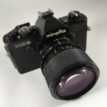 minolta xg9 black reflex 24 36 analog camera film 35mm 135 auto mode automatic vintage zoom 35-70mm