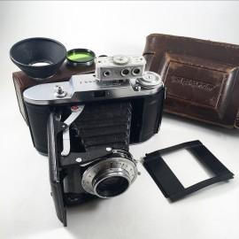 voigtlander bessa 1 I vaskar 105mm 4.5 soufflet film 120 telemetre moyen format 6 9 6 4.5 appareil photo argentique