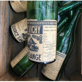 green bassin de vichy source st ange water mineral vintage antique 1930