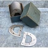 metal metallic shoe protection vintage antique 1930 lulu 456 front