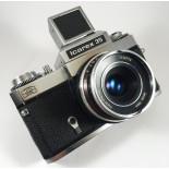 Zeiss Ikon Icarex 35 50mm 2.8 Color Plantar reflex film 35mm 135 analog camera vintage
