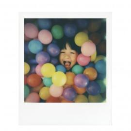 bipack 2 films pellicule polaroid originals film impossible project 600 couleur bord blanc