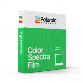 Pellicule Polaroid Originals Vintage Spectra Image Film color white frame