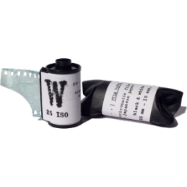 washi film 35mm black and white japanese paper handmade