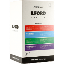 ilford starter pack kit process developper fixer chemistry 120 35mm