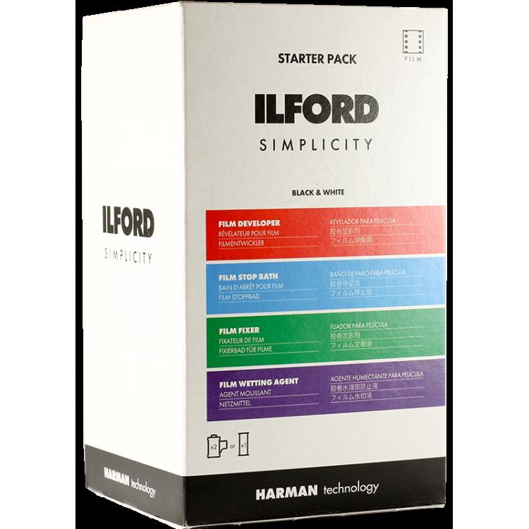 ilford starter pack kit process developper fixer chemistry 120 35mm