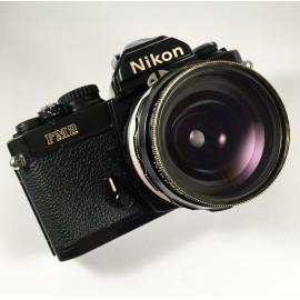 Nikon Fm2n 28mm 3.5 noir 35mm boitier 24x36 argentique