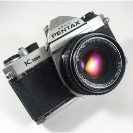 pentax k1000 smc 50mm 2 reflex argentique 35mm 135 appareil photo
