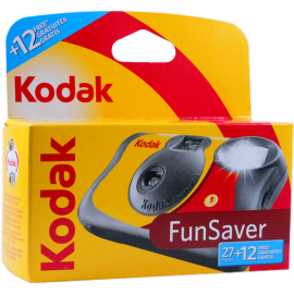 appareil photo jetable kodak fun saver couleur flash 27 + 12 39 poses photos
