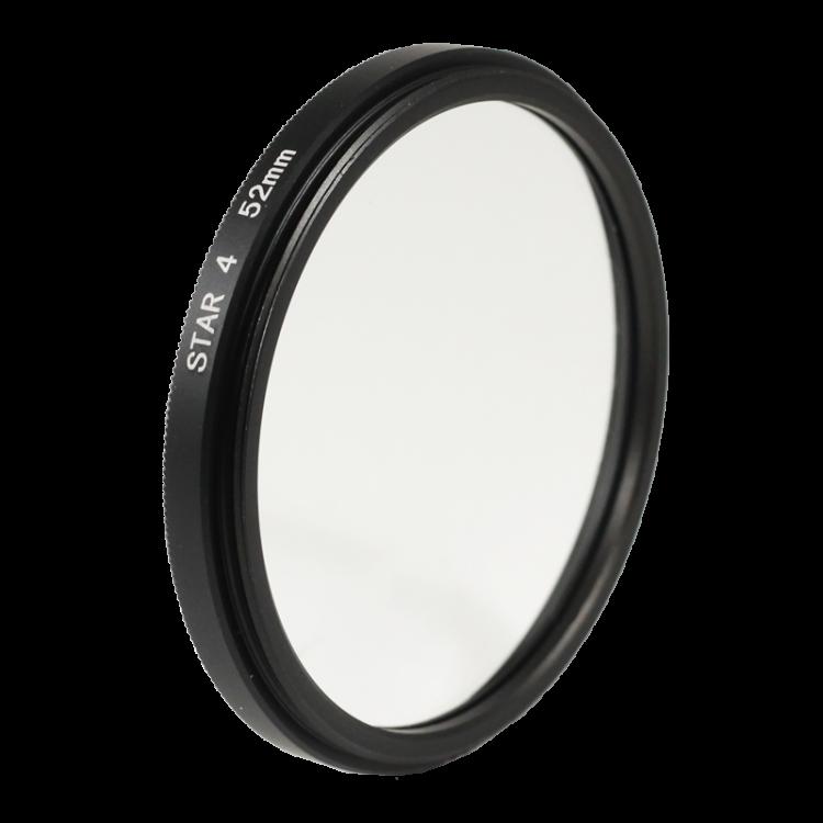 Star 4 filter 4 branches light 49mm 52mm 55mm lens lenses photo