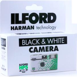 appareil photo jetable ilford hp5 noir et blanc 27 poses photos flash argentique