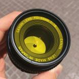 Filtre jaune noir et blanc 49mm 52mm 55mm  objectif optique photo