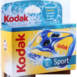 single use camera kodak sport waterproof 50ft 15m 27 exposures film analog cameras vintage color