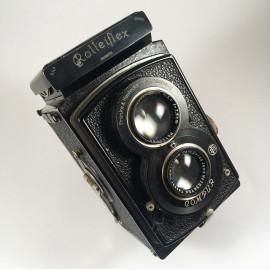 appareil argentique rolleiflex old standard 621 bi objectif carl zeiss tessar 75mm 3.8 1932