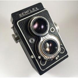 sem semflex standard 6x6 tlr reflex argentique appareil moyen format bi objectif 120 P. Angénieux Paris 75mm 3.5