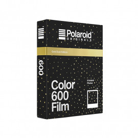 pellicule polaroid originals couleur bords noirs noir gold dust doré point rare cadre