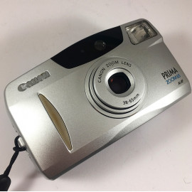 Canon Prima Zoom 65 appareil argentique compact 35mm 35-65mm vintage