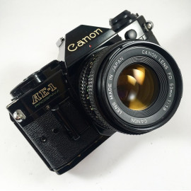 canon ae1 program noir 50mm fd 1.8 35mm reflex argentique vintage AE-1