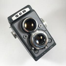 sem semflex standard 3.5 berthiot sem 75mm camera reflex tlr 6x6 analog 120 1964 1967 grey