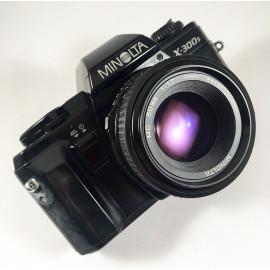 minolta x-300s 50mm 1.7 reflex appareil argentique 35mm vintage ancien