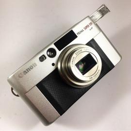 Canon Prima Super 120 analog film camera compact 35mm 38-120mm vintage
