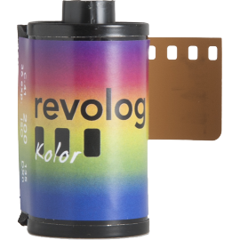 revolog kolor 35mm 135 200 iso color effect rainbow colorful
