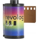 revolog kolor 35mm iso 200 pellicule couleur avec effet arc en ciel