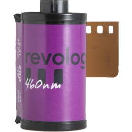 revolog 460nm nm 460 35mm analog film vintage photography effect color