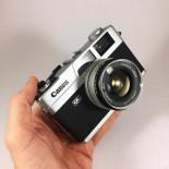 Canon Canonet QL17  40mm 1.7 compact film camera vintage antique 35mm 135