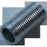 tige filetée m10 creuse creux métal tube électrique passage de cable acier luminaire lampe