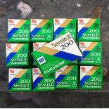 sensia II 2 200 35mm fuji fujifilm 36 poses fujichrome diapo couleur diapositives 200 périmée 2000