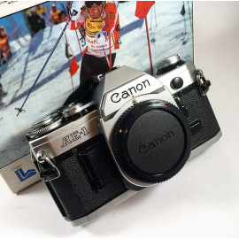 canon ae1 ae-1 reflex analog mint boxed box unboxing 1978 1980 olympic games wrapping 35mm 135