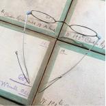 lunette ancienne métal XIX ème 1880 1870 titane paladium vue soleil solaire ernest retro
