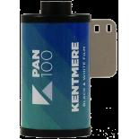 kentmere pan 100 analog black and white film 35mm 100 iso film