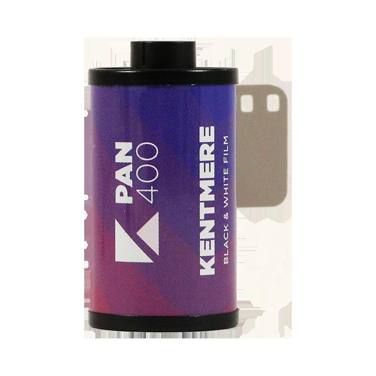 kentmere pan 400 analog black and white film 35mm 400 iso film